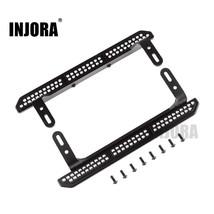 INJORA 2PCS TRX4 Metal Side Pedal for 1/10 RC Crawler Traxxas TRX-4 Upgrade Part - $27.07