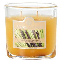 Colonial Candle Vanilla and Vetiver 3.5 oz. Jar Candle 2 Wicks - $8.00