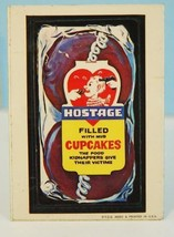 1973 Topps Wacky Packages Hostage Filled with Mud Cupcakes Series 1 - $9.99