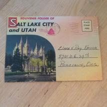 Vintage Souvenir Postcard Set of Salt Lake City Utah - $4.99