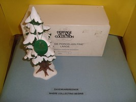 Deptartment 56 Heritage Village Porcelain Pine In Box 52183 Near Mint Condition - $9.99