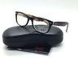 Ray Ban Matte Tortoise Black Square New Eyeglasses RB 5184 5409 52 Plastic - $77.57