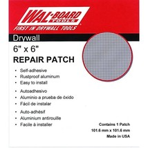 6 x 6 Wal-Board Self-Adhesive Drywall Patch 10/Pk - $110.72