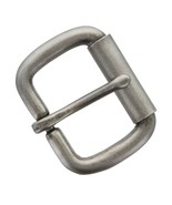 """Antiqued Finish Single Prong Replacement Roller Belt Buckle, Fits 1-1/2""""... - $10.95"""