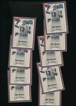2000 Fleer Dan Marino Dolphins Lot of 19 - $3.00