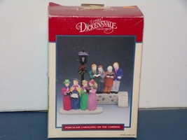 """Dept 56/LEMAX-DICKENSVALE-COLLECTIBLES-""""CAROLLING ON THE COMMON - $9.80"""