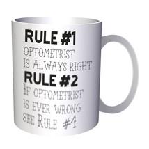 rule 1 optometrist is always right two   11oz Mug cc698 - $225,13 MXN
