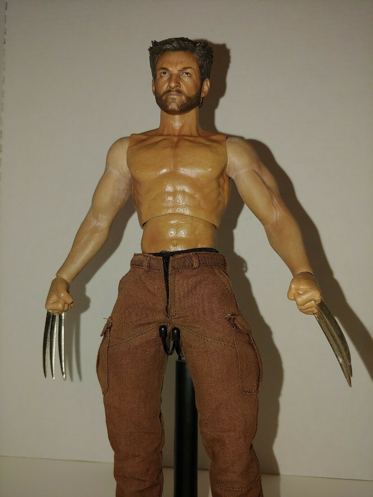 Primary image for 1/6 Custom The Wolverine ZTtoys muscular body Hot Toys Barney pants READ!