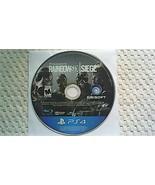 Tom Clancy's Rainbow Six Siege (PlayStation 4, 2015) - $9.20