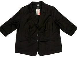 Avenue NWT Black Blazer Plus Size Women's Sz 22  - $24.99