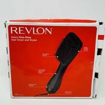 Black Revlon Pro Collection Hot Air One Step Hair Dryer Brush Styler Volumizer - $29.69