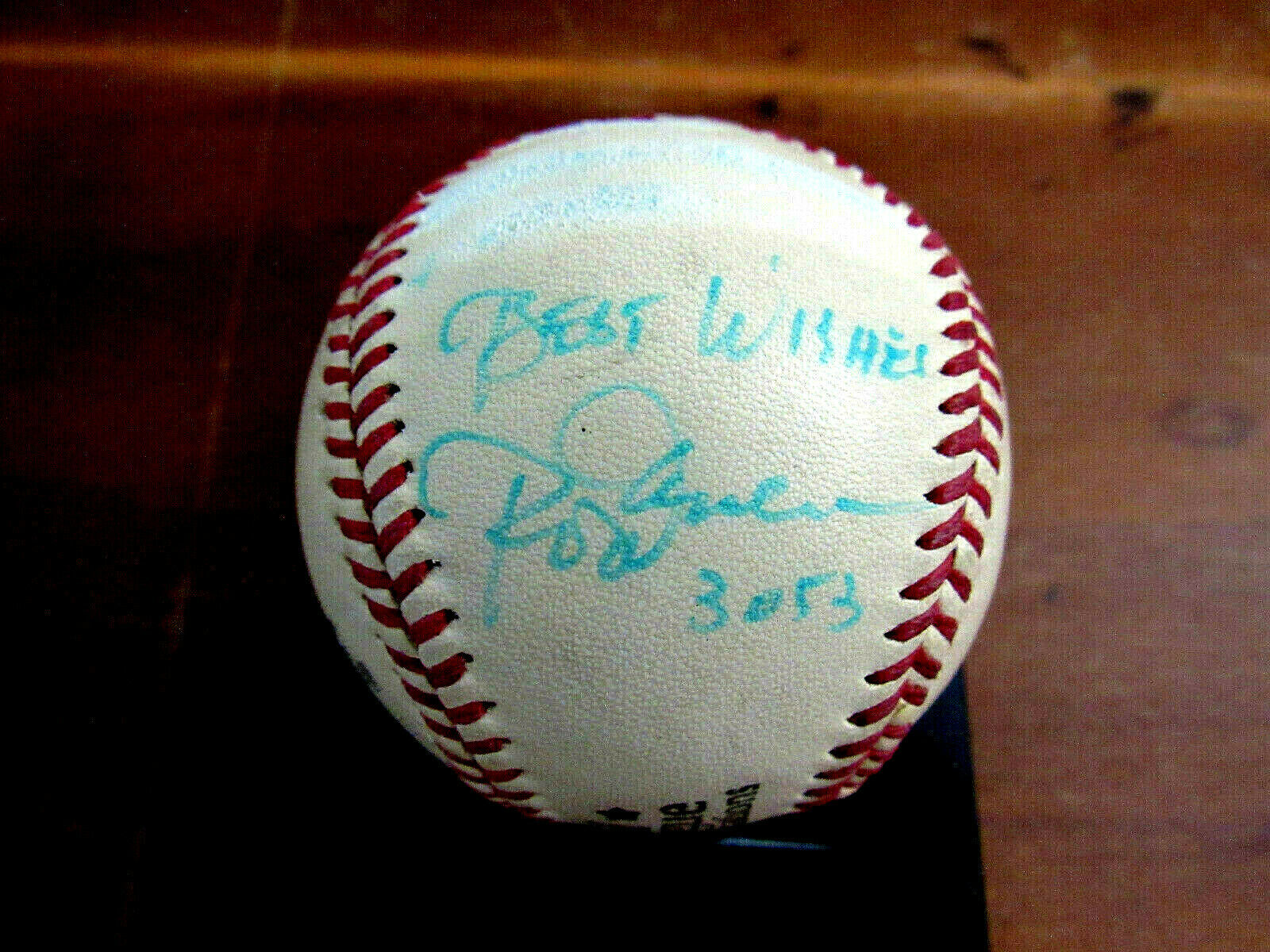 Primary image for ROD CAREW BEST WISHES 3053 TWINS ANGELS SIGNED AUTO VTG SPALDING BASEBALL JSA
