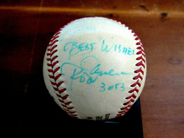 ROD CAREW BEST WISHES 3053 TWINS ANGELS SIGNED AUTO VTG SPALDING BASEBAL... - $197.99