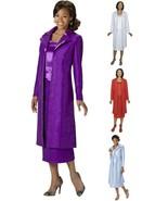 GMI Womens 3 piece Duster Skirt Set w/ Coat Tank Skirt Choose Size & Color - $29.99