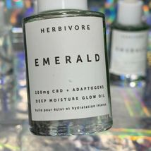 HERBIVORE PRISM GLOW POTION 10mLx2 + EMERALD 10mLx2 Total =More Than A Full Size image 4