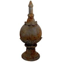 """Garden Finial Rusty D9.5""""x24"""" - 75021 - $86.12"""