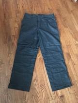 Polo Ralph Lauren Men's Lined Wool Pants 35x30 Dark Gray - $37.39
