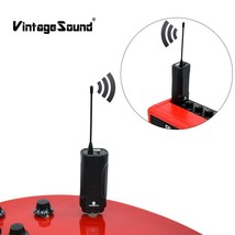 Audio Wireless Guitar Transmitter And Receiver Digital Guitar Wireless S... - $42.97