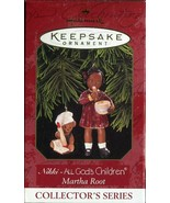 1997 New in Box - Hallmark Keepsake Christmas Ornament - Nikki - Marth Root - $3.11