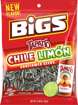 Bigs Chile Limon Sunflower Seeds, 5.35-Ounce Bag (Pack Of 3) - $14.36