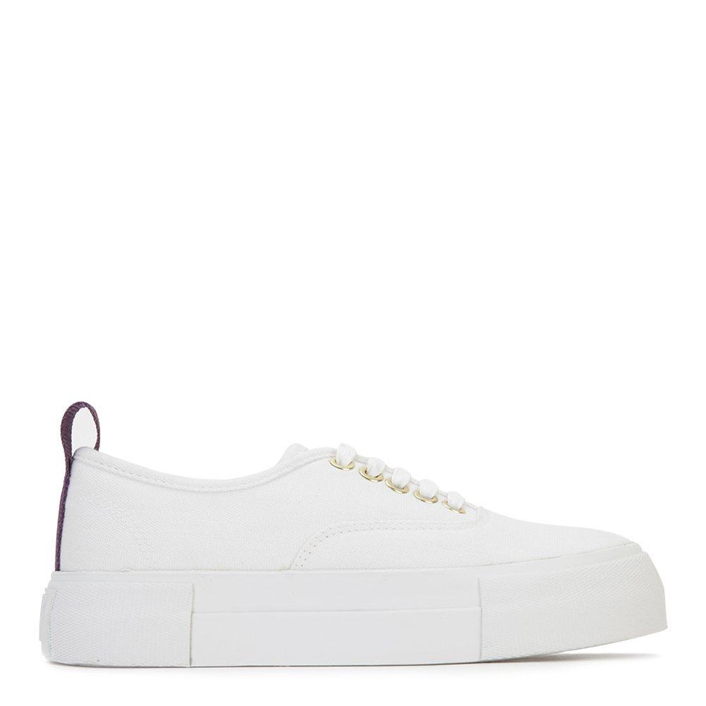Eytys Unisex Fashion Sneakers MOTHERCANVAS White Size EU 36
