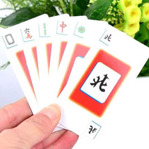 Family Board Game Entertainment Props Mahjong Cards Popular Family Party... - $9.46
