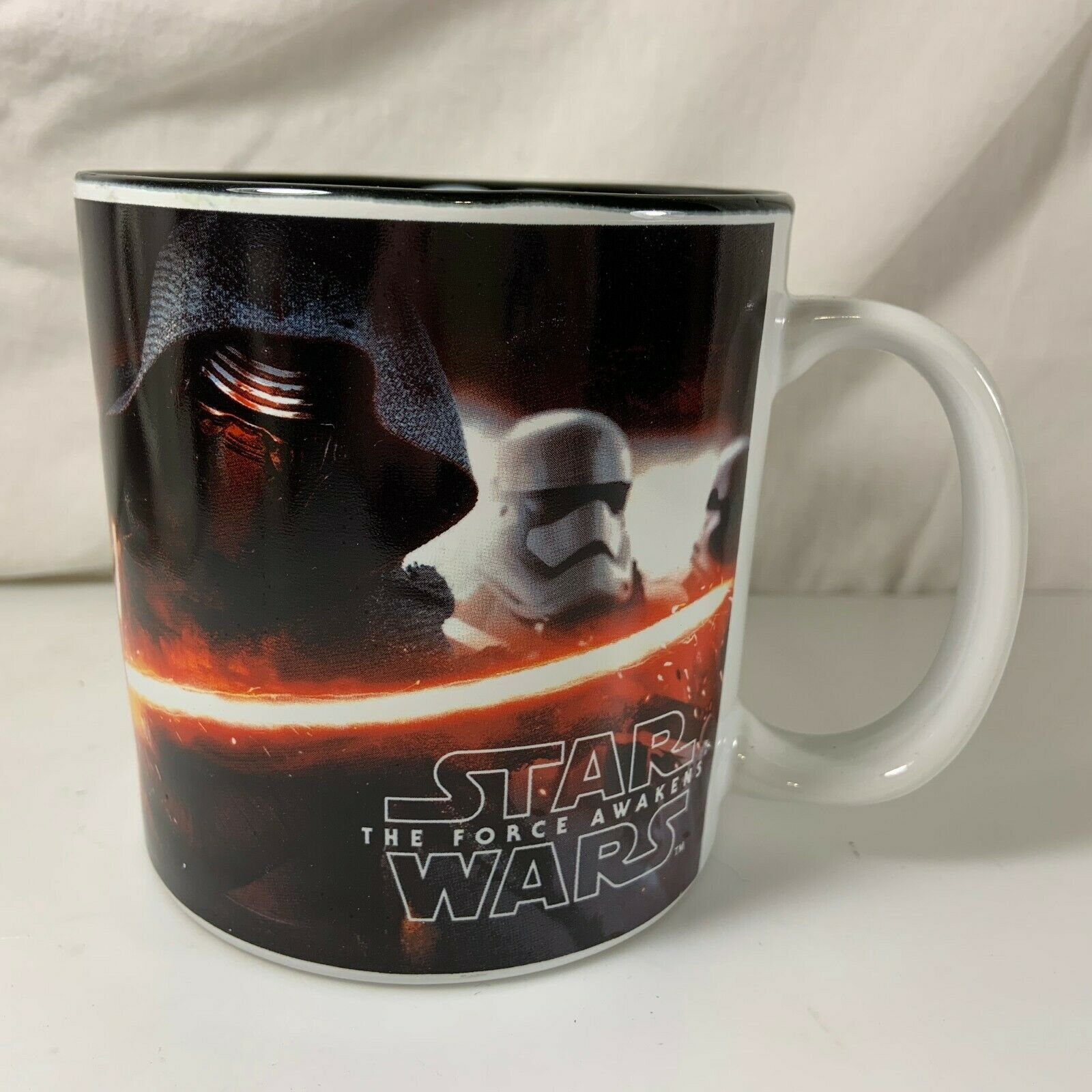 Primary image for Star Wars The Force Awakens Coffee Mug Cup Large Kylo Ren First Order