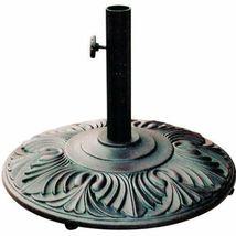 Patio Umbrella Iron Base Amazon Outdoor Furniture Cast Aluminum Bronze. image 7
