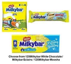 Nestle Milkybar Choose from White Chocolate / Eclairs / Moosha - $11.67+