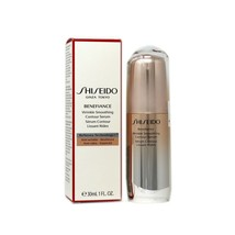 SHISEIDO BENEFIANCE WRINKLE SMOOTHING CONTOUR SERUM 30 ML/1 FL.OZ. NIB S... - $52.97