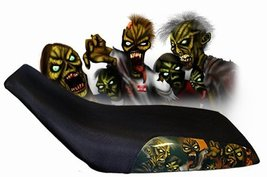 Honda CR250M Seat Cover Zombie Dirtbike Seat Cover Year 1973 To 1976 - $43.99