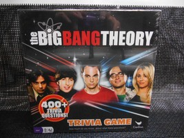 Cardinal The Big Bang Theory Trivia Game Sealed Complete Trivial Pursuit - $29.69