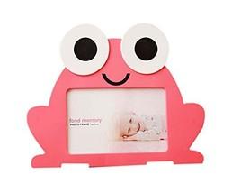 6 inch Creative Cartoon Cute Baby Photo Frame Pink Frog Models