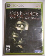 XBOX 360 - CONDEMNED: CRIMINAL ORIGINS (Complete with Manual) - $12.00