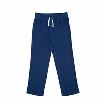Faded Glory Girls Open Leg Microfleece Sweatpants Blue Size Small 6-6X NEW - $10.88