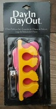 5 Piece Pedicure Kit, Two Toe Separators, Nail Clippers, Tweezers, Nail ... - $7.50