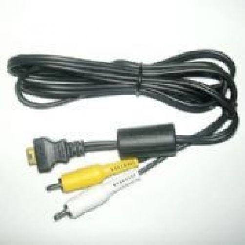 2 CASIO AV Cables for EX-S880RD EX-S600BE EX-Z7 EX-Z60BK EX-S600SR EX-S770 S770D