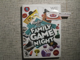 Hasbro Family Game Night Nintendo Wii 2008 Party Game - $15.98