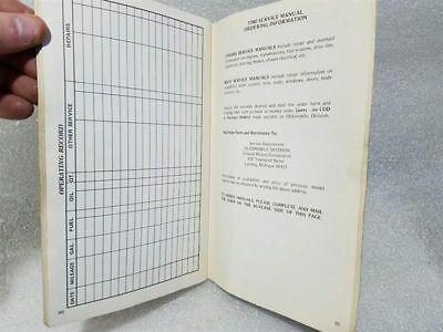 OLDS TORONADO  1980 Owners Manual 14874