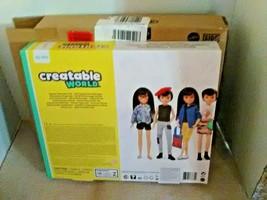 Creatable World Deluxe Character Kit Customizable Doll, Black Straight H... - $22.00
