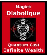 Magick Diabolique Ritual Unlimited Wealth Riches Money Spell Quantum Cast - $200.00