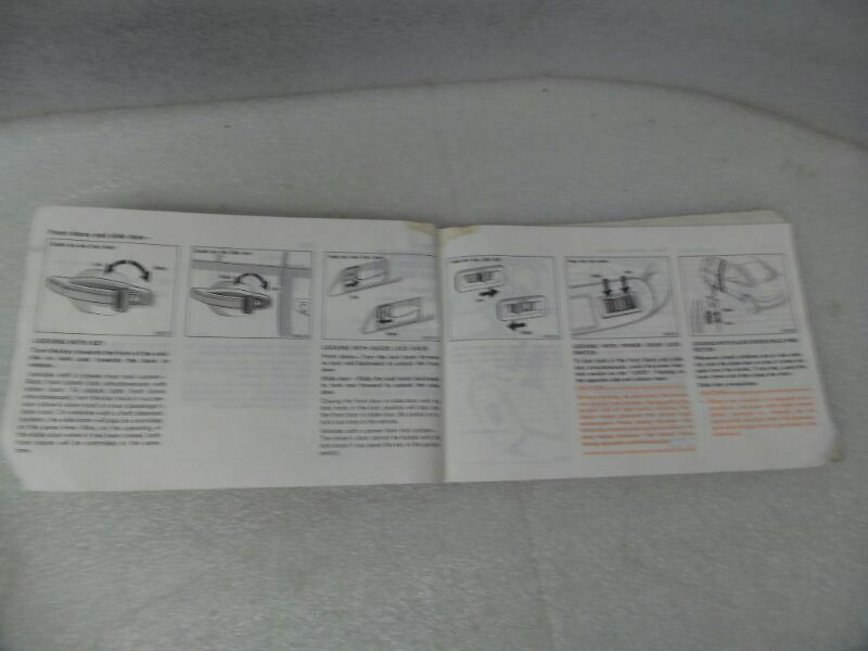 Toyota Previa 1991 Owners Manual 17232