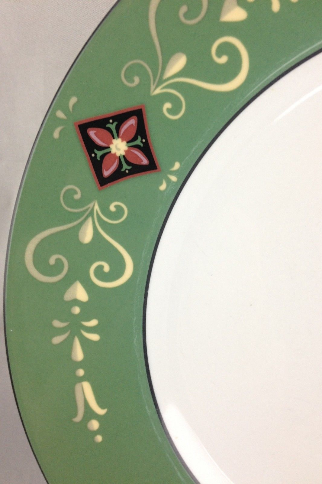 Dior china GRIFFON dinner plate ( 4 available ) ( SKU 86/2015/01 ) image 2