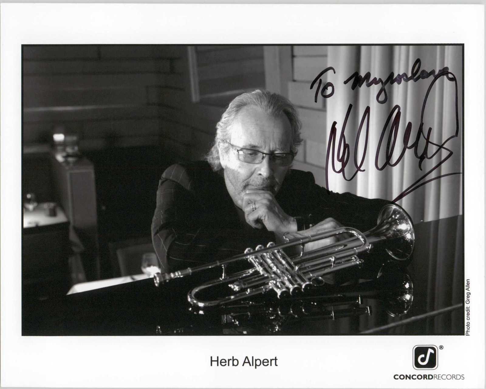 Primary image for Herb Alpert Signed Autographed Glossy 8x10 Photo