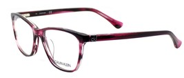 Calvin Klein CK5883 609 Women's Eyeglasses Frames Striped Wine 52-18-140... - $90.00