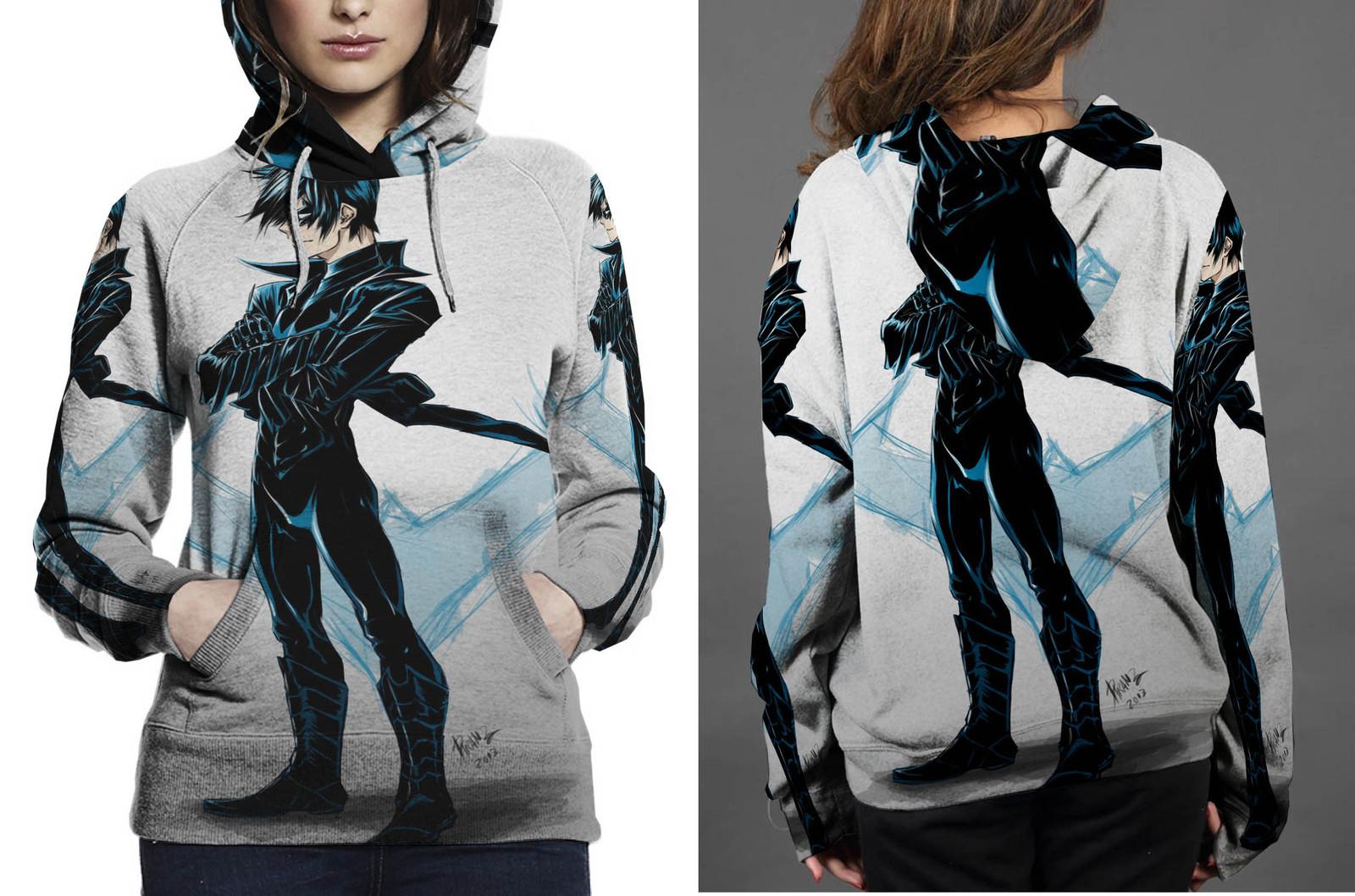 Nightwing hoodie women s