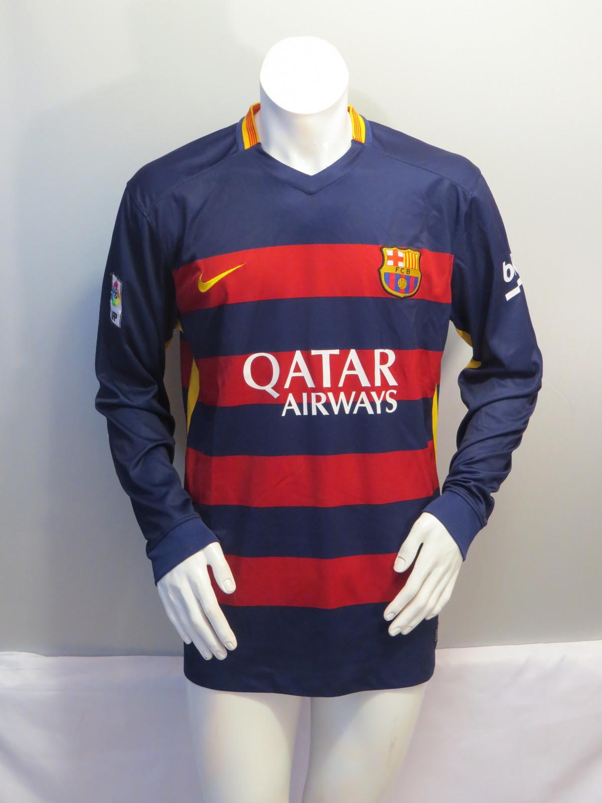 b84b691cd8a FC Barcelona Long Sleeve Jersey - 2015 Hone and 50 similar items