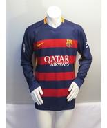 FC Barcelona Long Sleeve Jersey - 2015 Hone Jersey by Nike - Men's Extra... - $75.00