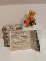 Cherished Teddies Shirley 1999 Limited Edition Release Christmas Figurine - $14.75