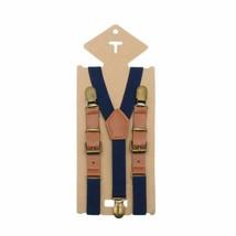 Bretelle per bambini in pelle vintage con bretelle per pantaloni stile... - $11.32